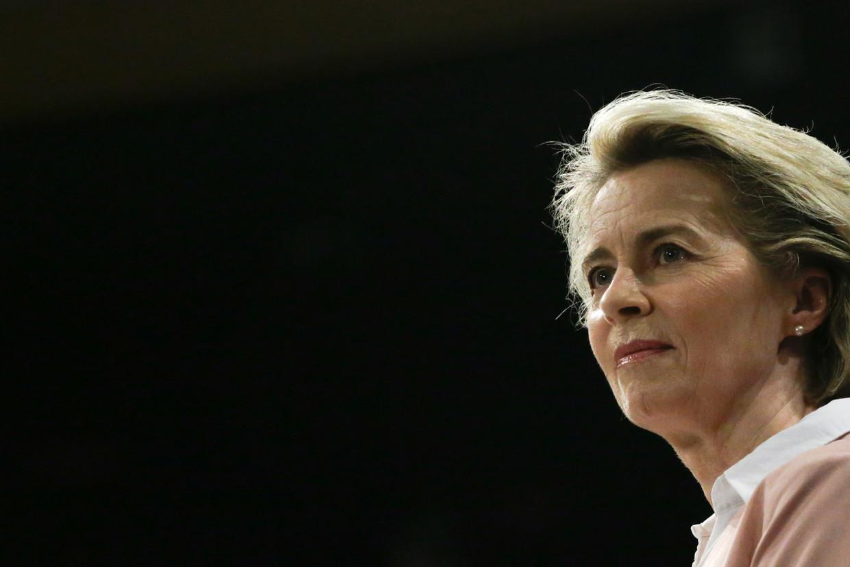 Voorzitter Ursula von der Leyen van de Europese Commissie.
