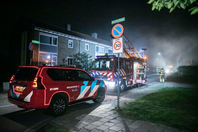 In een woning aan de Graaf Ottostraat in Velp heeft brand gewoed.