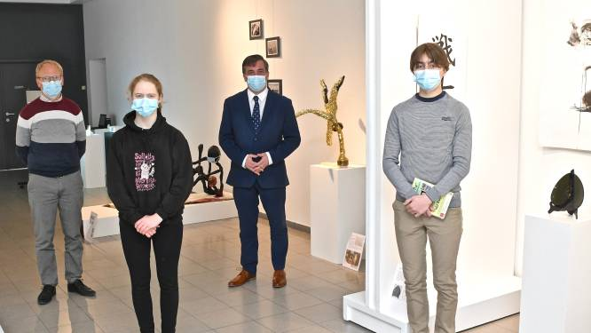 Leerlingen MSKA realiseren expo 'DOOS NR. 154 (uit de collectie Jaap Kruithof)'
