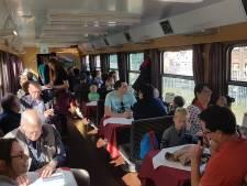 Duizenden mensen weer op stoom voor historische locs tussen Den Bosch en Tilburg