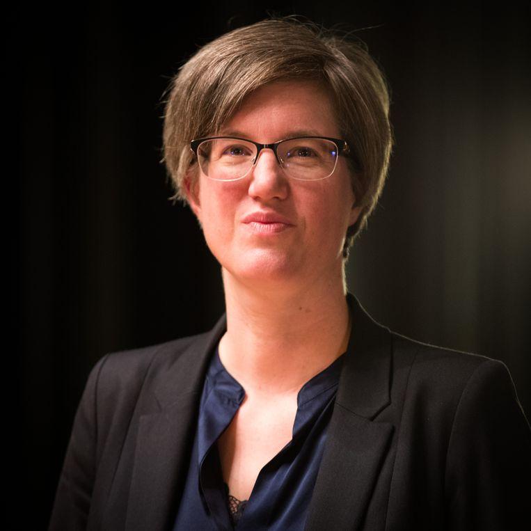 Burgemeester Catherine Moureaux: 'Met wat er in Frankrijk is gebeurd, ben ik toch ongerust.'  Beeld BELGA
