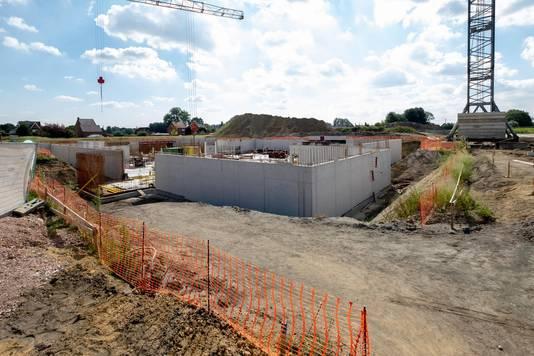 Nu nog een bouwwerf, straks een spetterend waterparadijs.