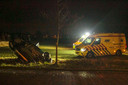 Gewonden en aanhoudingen na achtervolging in Aarle-Rixtel.