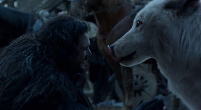 Jon en Ghost zijn herenigd.