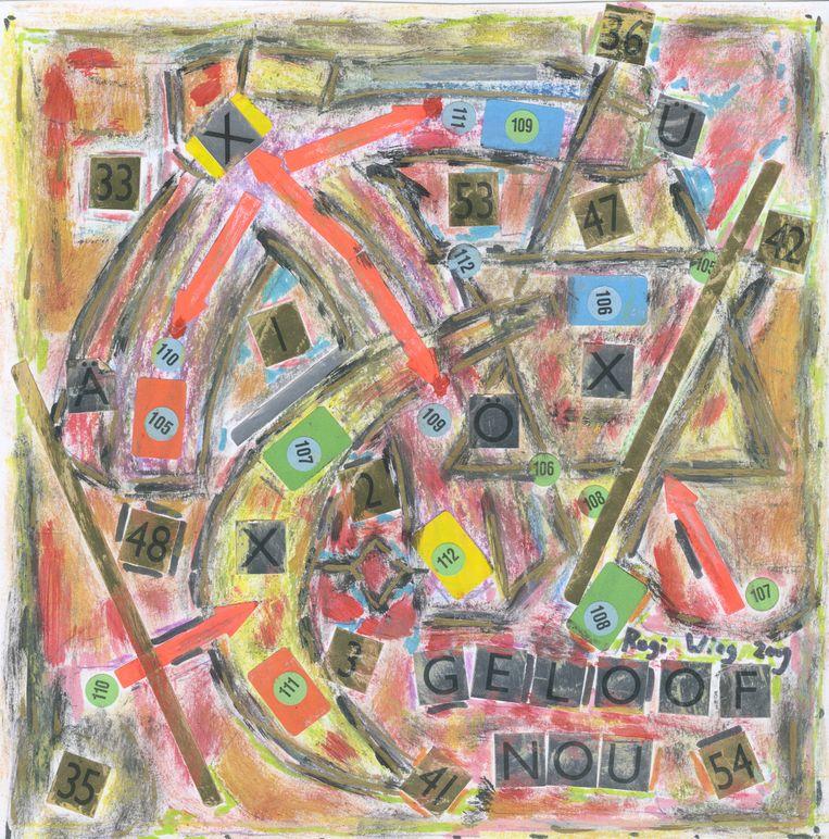 De schilderijen van Rogi Wieg. Beeld Rogi Wieg