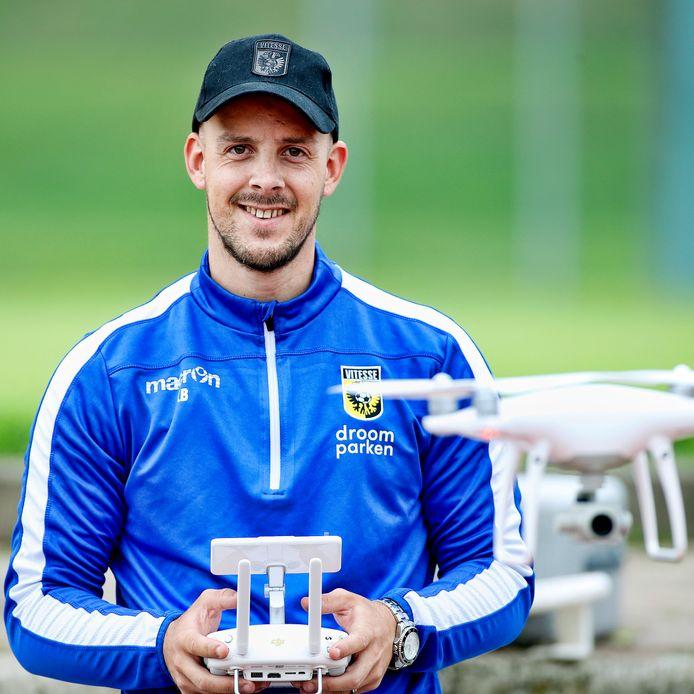 Kevin Balvers in zijn tijd bij Vitesse