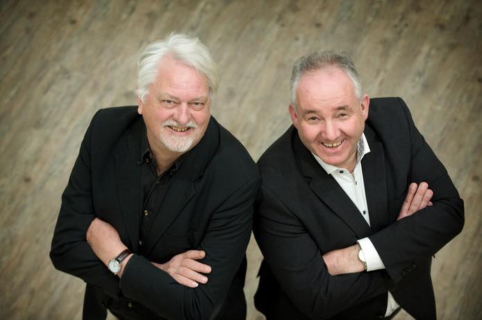 Jan Woldberg (links) en Nees van Wolfswinkel.