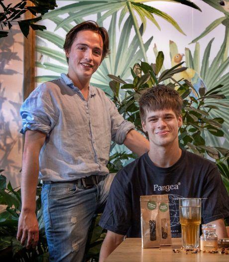 Thee saai? Teun (23) en Pim (22) uit Eindhoven willen een wauwmoment creëren met theekristallen