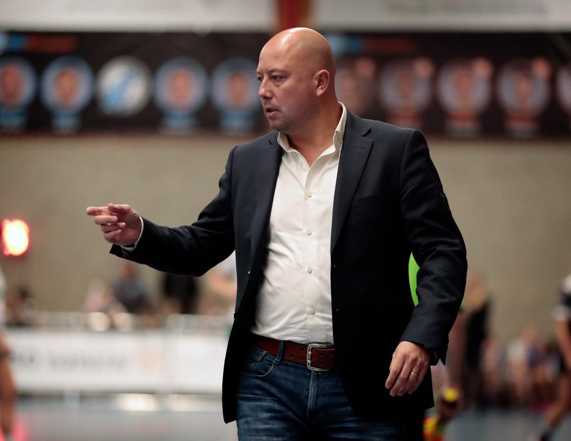 DVO-coach Richard van Vloten keek lang uit naar de start van de Korfbal League.