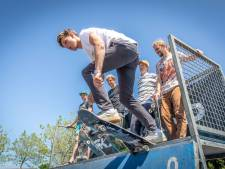 Enthousiaste skaters tijdens Free Style Party: 'Wel een  beetje spannend'