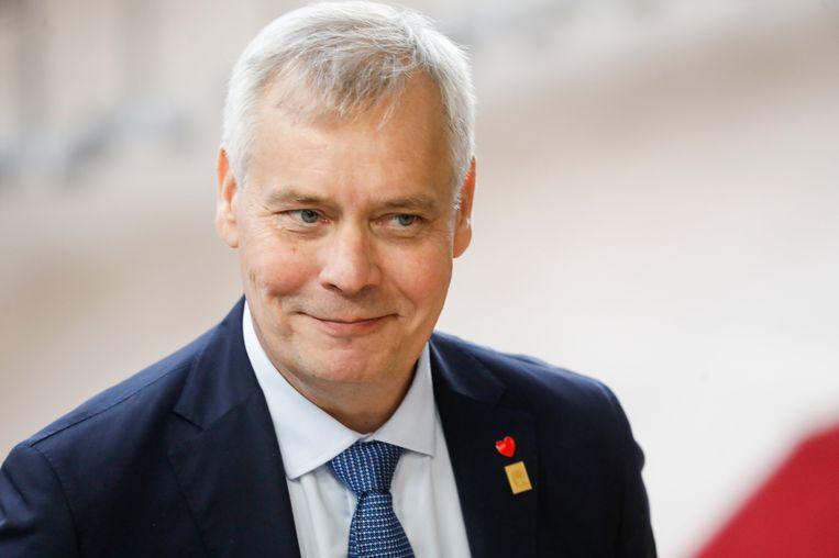 De Finse premier Antti Rinne. Beeld BELGA