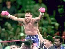 Oscar 'The Golden Boy' De La Hoya (48) maakt rentree naar de boksring