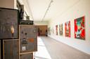 Het kunstenfestival NAFT in de Tentoonstellingszaal Zwijgershoek in het SteM.
