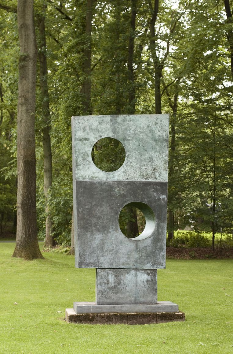 Square with two circles 1963-1964 Beeld Marjon Gemmeke