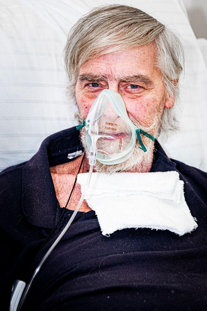 Joop Zoutenbier is blij met de verhuizing naar het hospice.
