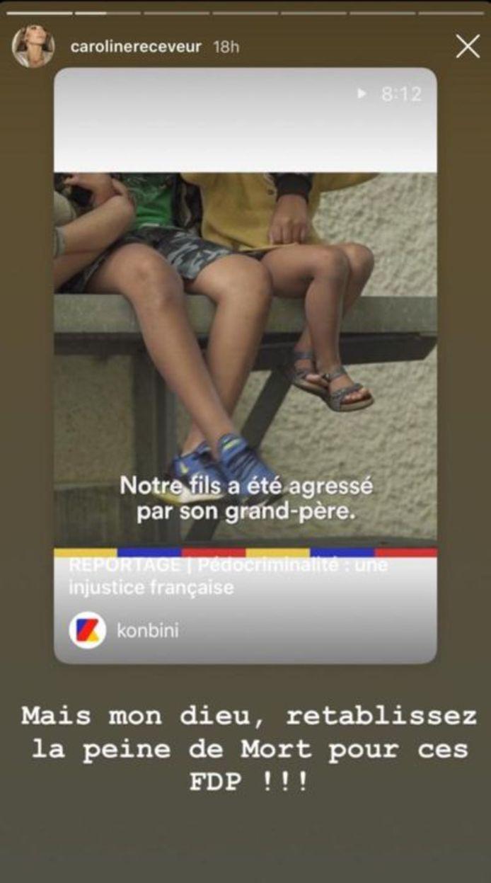 Instagram Caroline Receveur