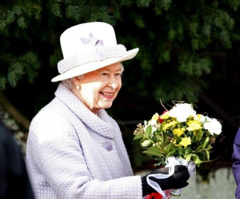 Koningin Elizabeth Beeld EPA