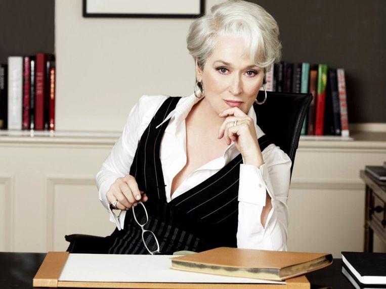 Meryl Steep in 'The Devil Wears Prada' Beeld rv