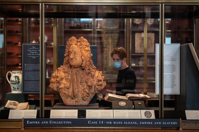 De buste van Hans Sloane Beeld Getty Images