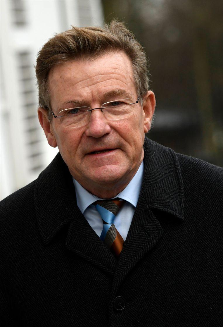 Minister van Financiën Johan Van Overtveldt (N-VA). Beeld Photo News