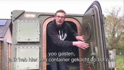 G Goran beschermt zich tegen corona in bunker