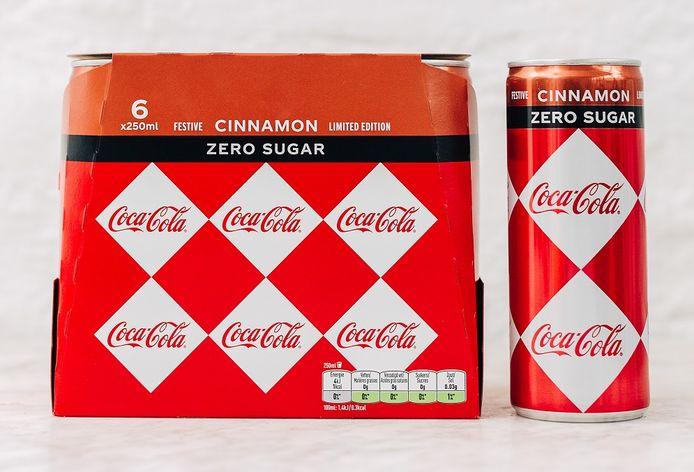 Le Coca-Cola Zero à la cannelle est désormais en magasin.