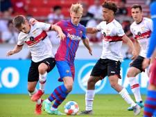 Spierblessure houdt Frenkie de Jong bij Barça aan de kant