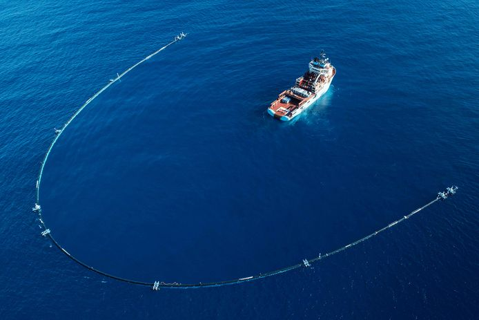 The Ocean Cleanup.
