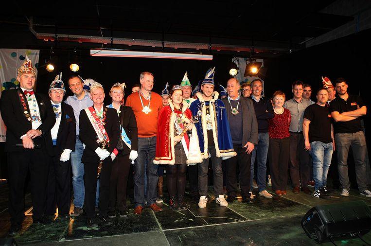 In Merelbeke werd Ann D'Haene tot Prinses Carnaval verkozen.