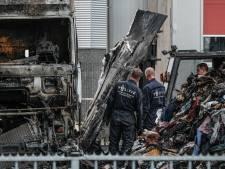 Vrachtwagenbrand waarbij chauffeur (46) uit Bergen op Zoom zwaargewond raakte is aangestoken
