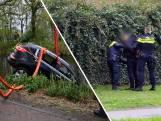 Verdachten rijden auto het kanaal in na overval Helmond