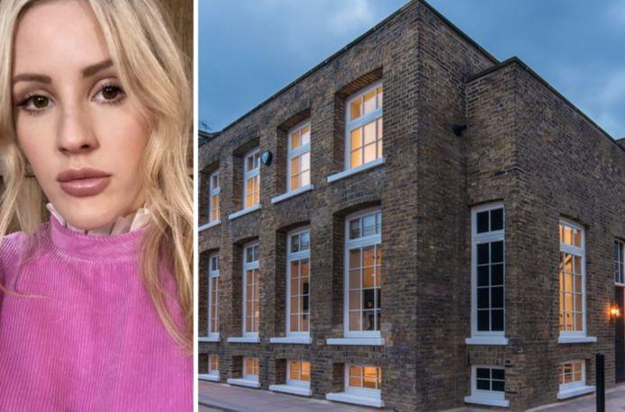 Het Londense huis van Ellie Goulding.