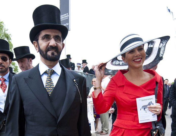 Haya Bint al-Hussein et l'émir du Dubaï