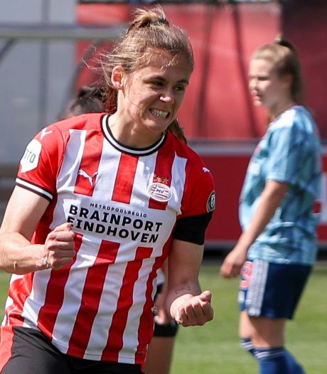 PSV opent kampioenspoule eredivisie vrouwen met winst op Ajax