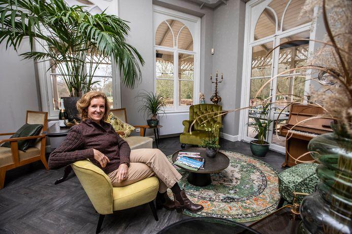 Petra Brekelmans in Villa Ockenburgh anno 2021.