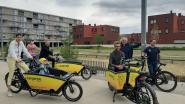"""Elektrische deelbakfietsen strijken neer in Leuven: """"Tussen de auto en de fiets zat nog niets"""""""