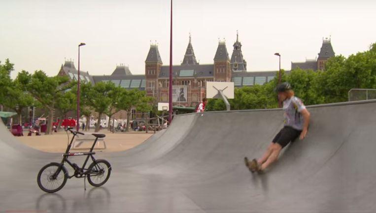 Screenshot uit de instructiefilm Beeld Gemeente Amsterdam