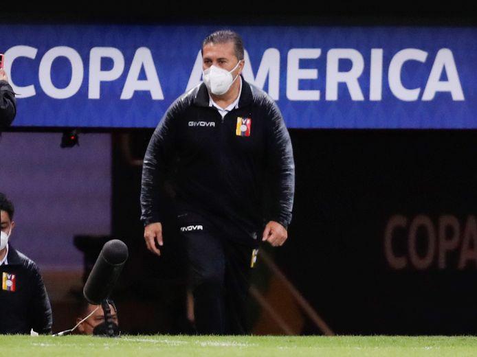 De bondscoach van Venezuela, Jose Peseiro