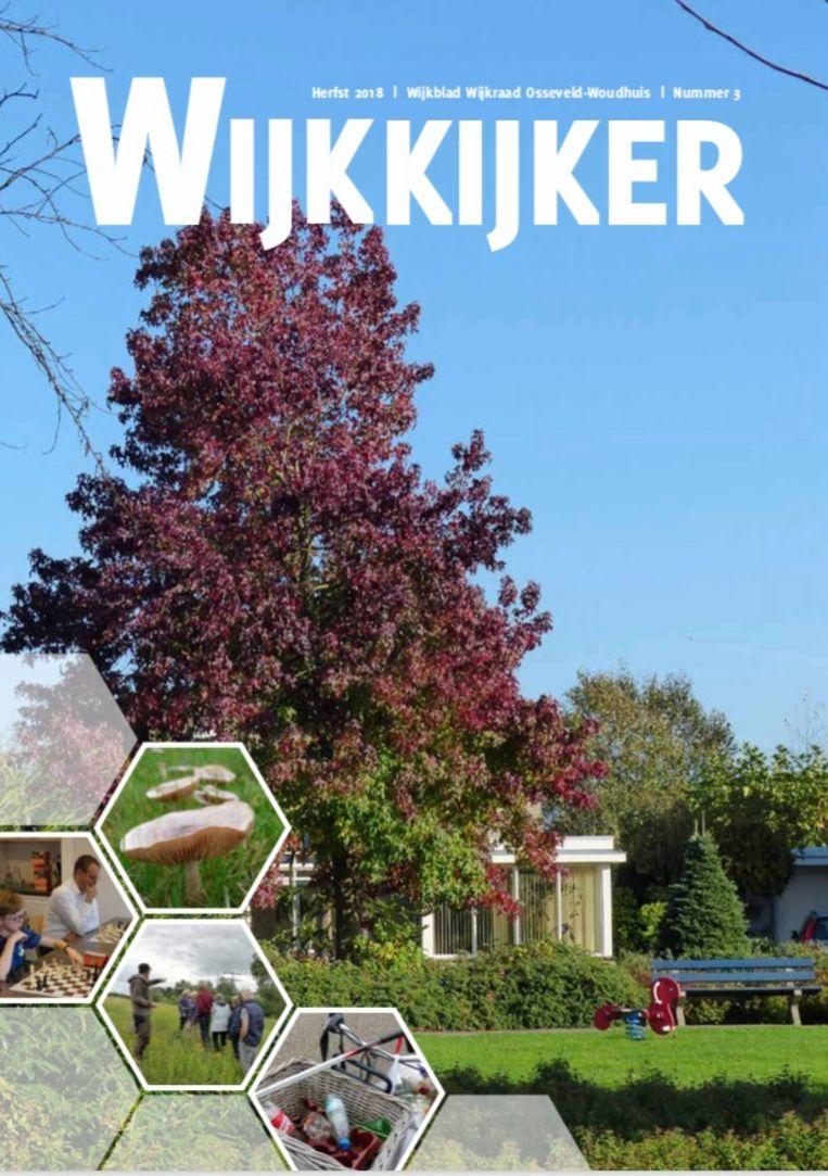Cover van De Wijkkijker. Beeld Margriet Oostveen