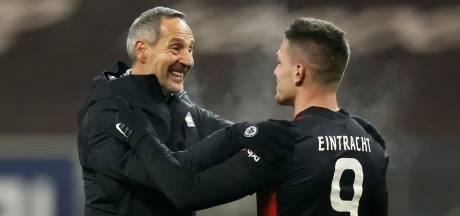 Autant de buts en 31 minutes avec Francfort qu'en 32 matchs avec le Real: Jovic soigne son retour en Allemagne