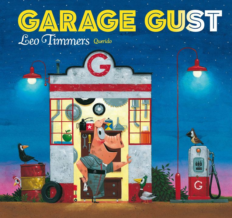 'Garage Gust' is de winnaar in de groep van de 4- tot 6-jarigen. Beeld Querido