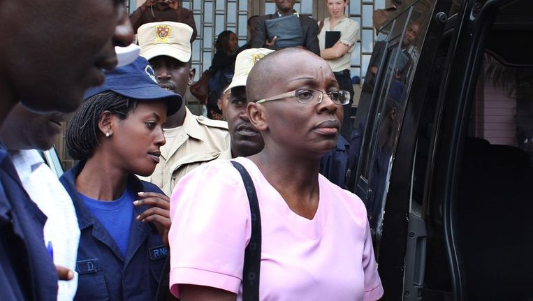 Victoire Ingabire. Beeld BELGA