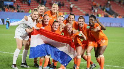 Nederlandse vrouwen kruipen door klein gaatje tegen Japan, Martens schiet Oranje naar eerste kwartfinale ooit