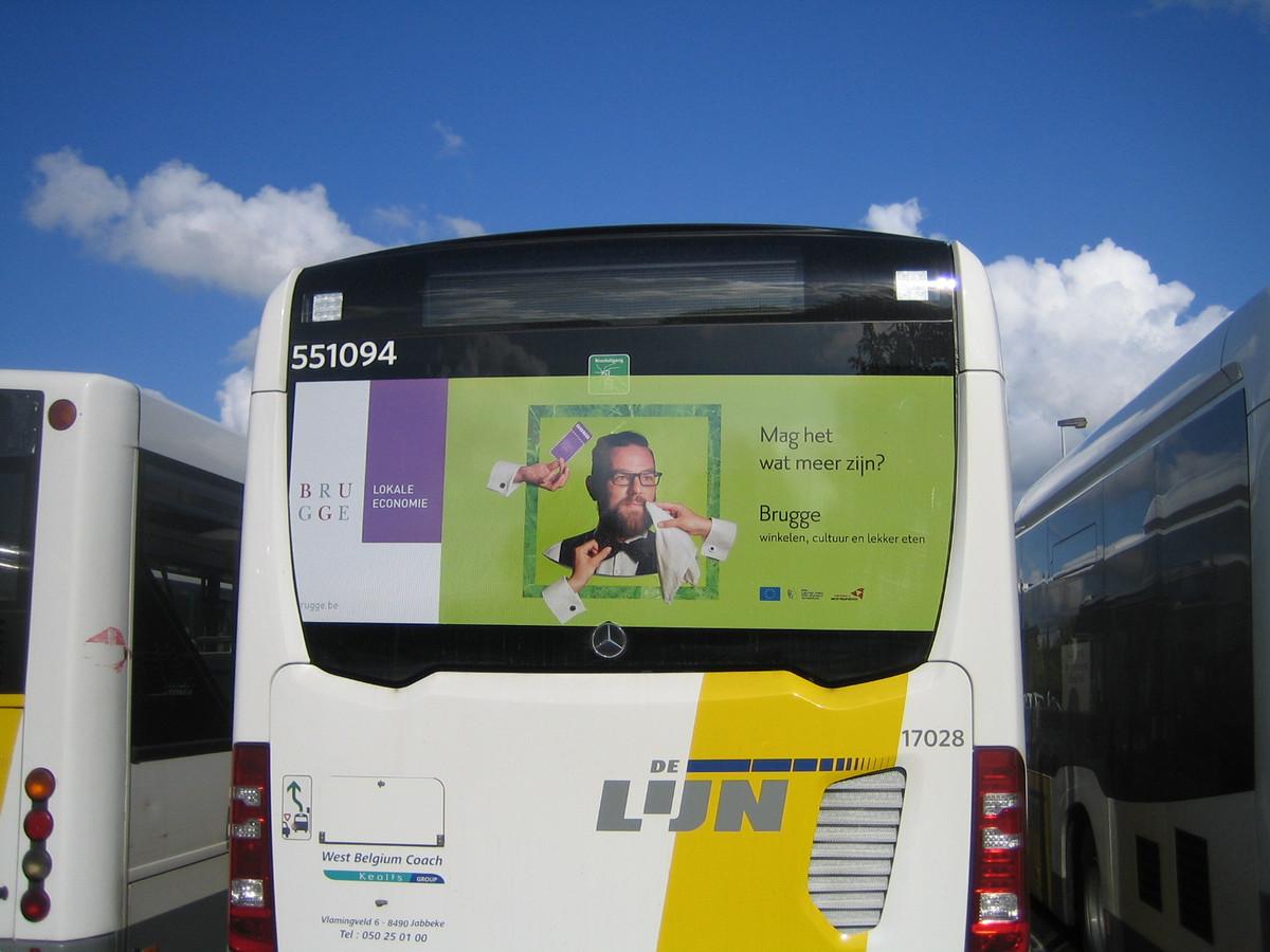 De Lijn legt extra bussen in (illustratiebeeld).