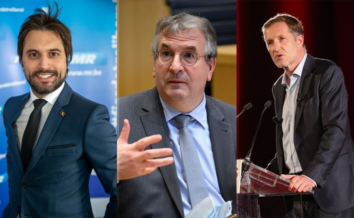 Georges-Louis Bouchez - Pierre-Yves Jeholet - Paul Magnette