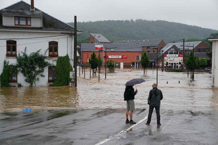 Inondations à Rochefort, le 15 juillet 2021.