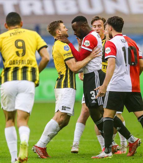 Meeslepend voetbalgevecht in GelreDome is de maatstaf voor Vitesse: voor zoveel strijd komt het publiek naar het stadion