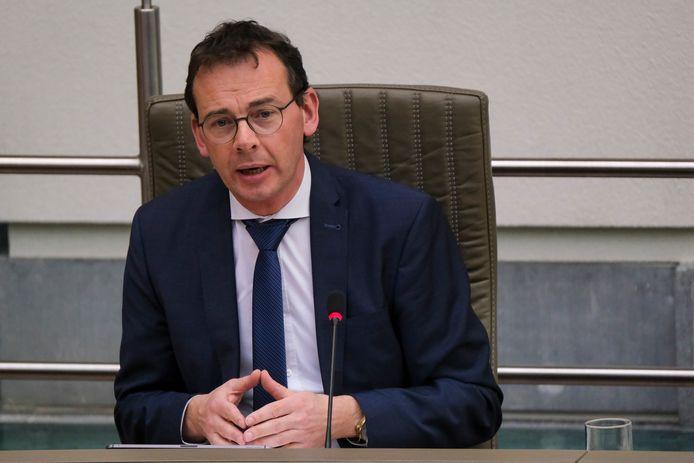 Vlaams minister van Volksgezondheid en Welzijn Wouter Beke (CD&V).
