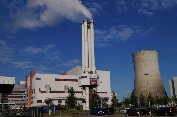 De afvalenergiecentrale van Attero in Moerdijk
