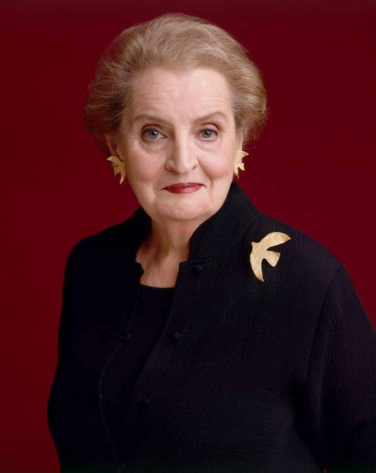 Madeleine Albright: 'In plaats van zich sterk te maken tegenover antidemocratische krachten geeft Trump hun rugdekking.' Beeld NYT